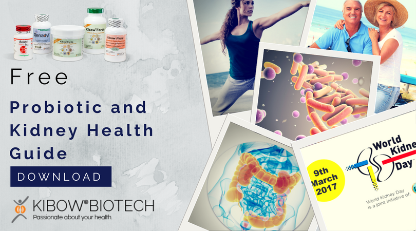 Free Probiotic and Kidney Health Guide